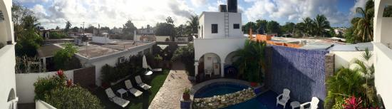 IslaMar Vacation Villas: Panoramic view from balcony outside Room 3