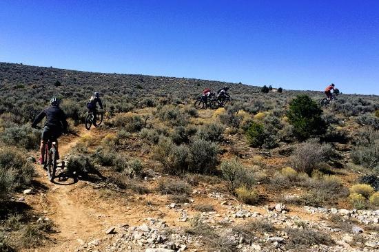 Gearing Up Bicycle Shop: Rift Valley Trail thru the sage brush