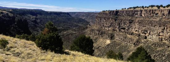 Gearing Up Bicycle Shop: Amazing views of the Rio Grande Valley near Taos