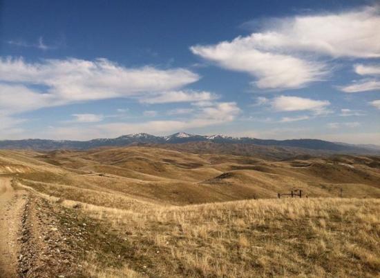 อีเกิล, ไอดาโฮ: A view of the Eagle foothills area where 3 Horse Ranch Vineyards is located.