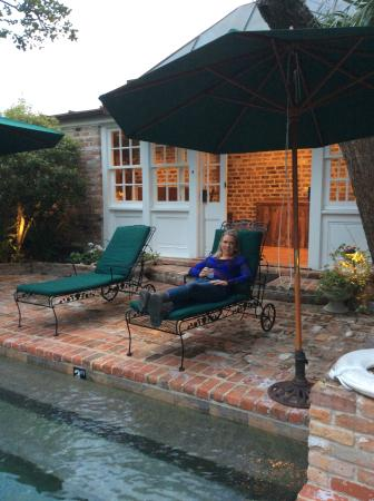 Audubon Cottages: Pool