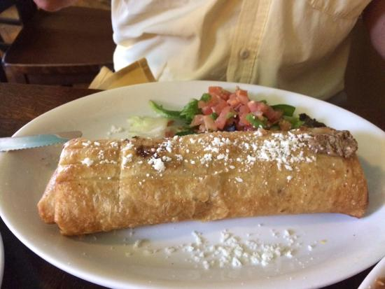 Chimichanga - Picture of El Charro Cafe - The Original, Tucson ...