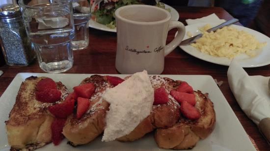 Red Eye Cafe: Best French toast