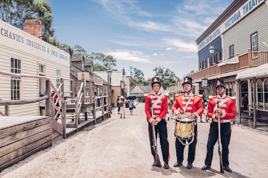 Ballarat, Australia: Sovereign Hill Red Coats
