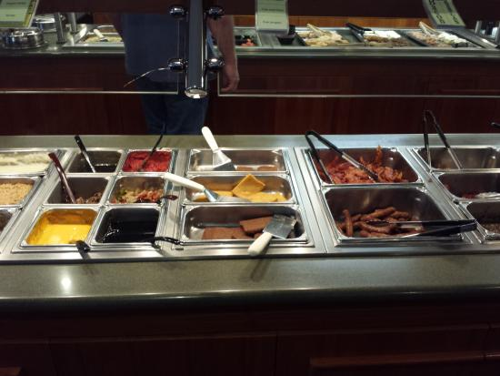 sauces for breakfast buffet picture of dienner s country rh tripadvisor ie