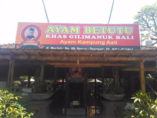 Tampak Depan Restoran Ayam Betutu Photo De Ayam Betutu Khas