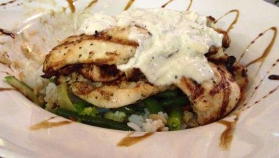 Tuggeranong, Australia: Istanbul special: Marinated chicken with Turkish yoghurt, rice and vegies.
