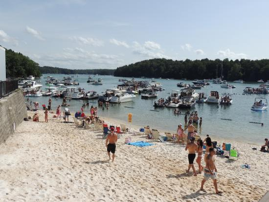 Margaritaville At Lanier Islands Beach Near Sunset Cove