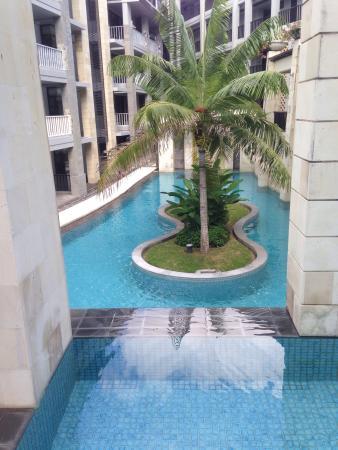 Pool - The Bali Bay View Hotel Photo