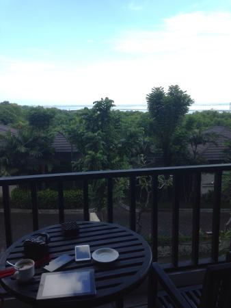 Balcony - The Bali Bay View Hotel Photo