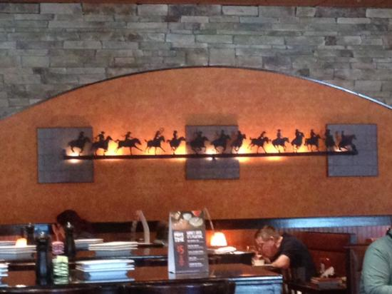 LongHorn Steakhouse : Ambiance!