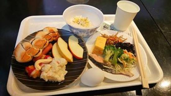 Hotel Edoya: sample breakfast (buffet)