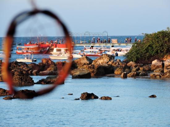 Praia Porto De Cima: Vista do Cais