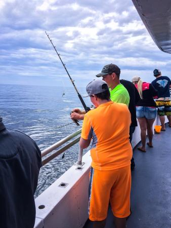 voyager deep sea fishing dolphin cruises north myrtle