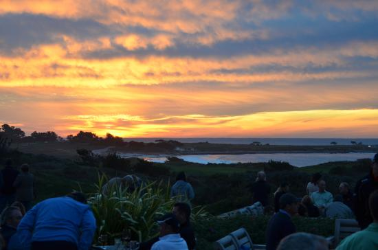 The Inn At Spanish Bay: Sunset From The Patio