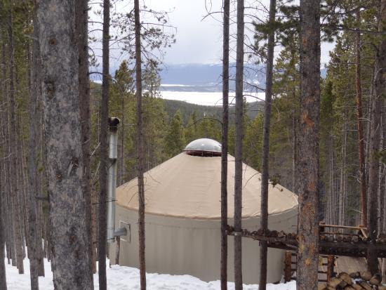 Tennessee Pass Sleep Yurts : Riva Ridge