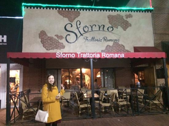 Sforno Trattoria Romana A Great Italian Restaurant