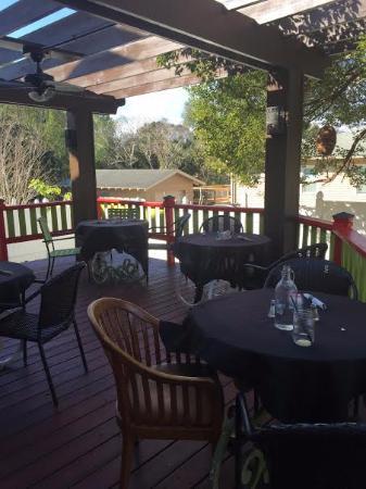 patio seating picture of greens n grains clermont tripadvisor rh tripadvisor com