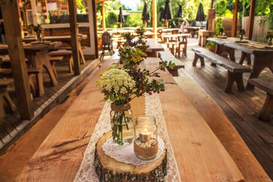 T.O.A.D Hall Store & Cafe: TOAD Hall Wedding set up