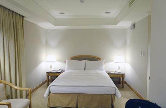 Dong Wu Hotel: ビジネスダブルの部屋 バスタブ、窓あり