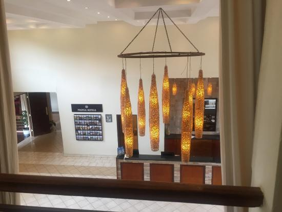 Protea Hotel Chipata: Lobby, room and view from room