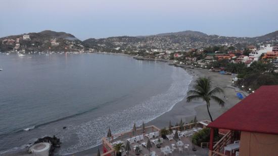 Hotel Irma: Great view of Zihua bay