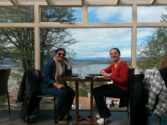 Hotel Las Lengas : Vista desde el Comedor