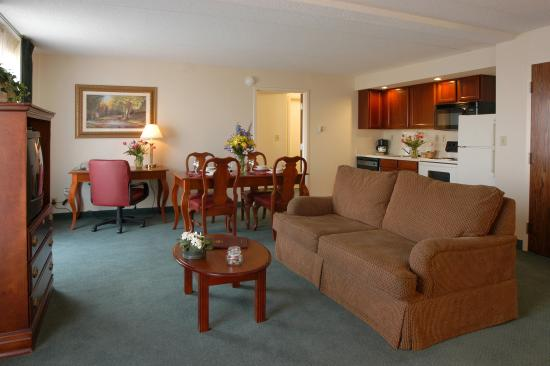 Residence Inn Minneapolis Edina: Two Bedroom Suite Living Room HR