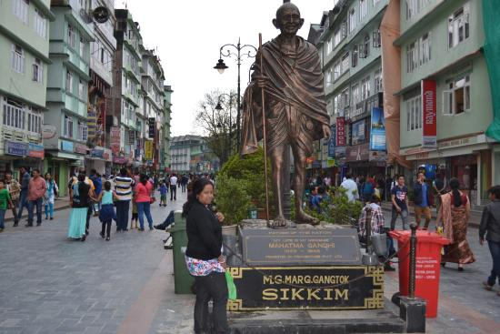 M G Mark, Gangtok