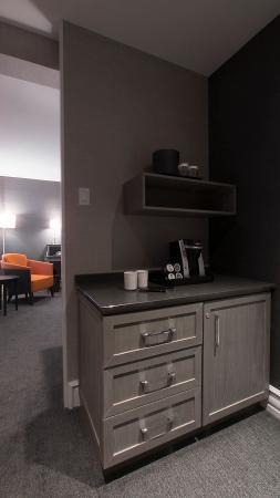 Hotel Manoir Victoria: Chambre Detail A
