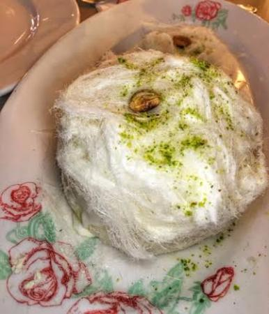 Mastic ice cream - Picture of Leila Restaurant, Dubai - TripAdvisor