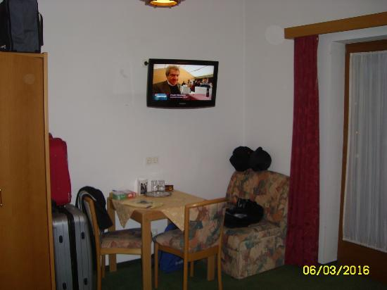 Theresia Hotel : Geräumiges Zimmer