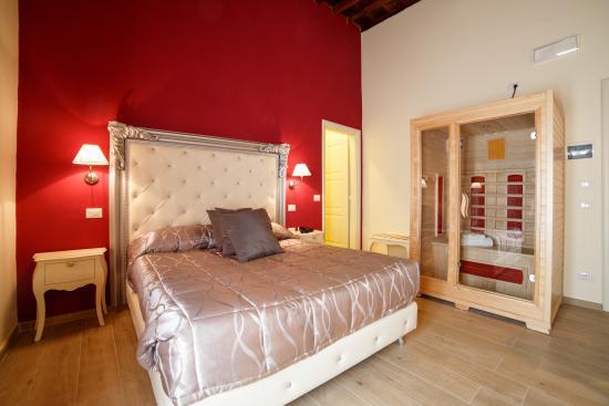 italhotels ginori al duomo: Camera Deluxe con Sauna