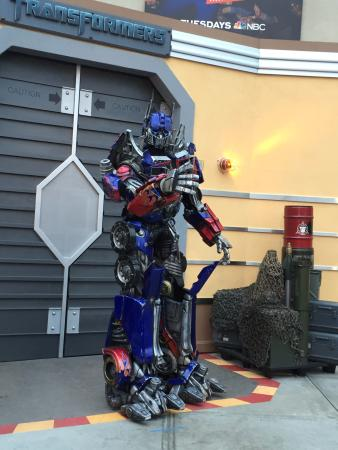 optimus prime ロサンゼルス ユニバーサル スタジオ ハリウッドの