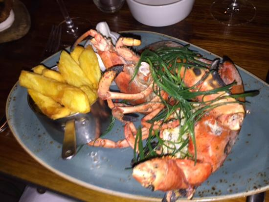 The Salt Room Restaurant Whole Lobster And Chips