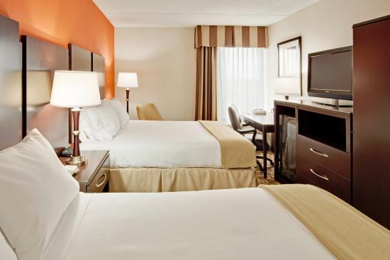 Holiday Inn Express Wilkes Barre East: Double Bed Guest Room