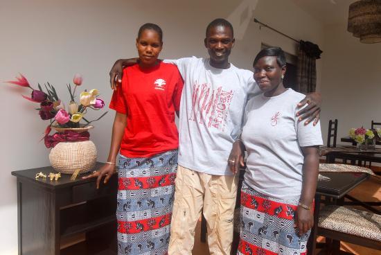 Yoff, Senegal: Léquipe de la Villa D