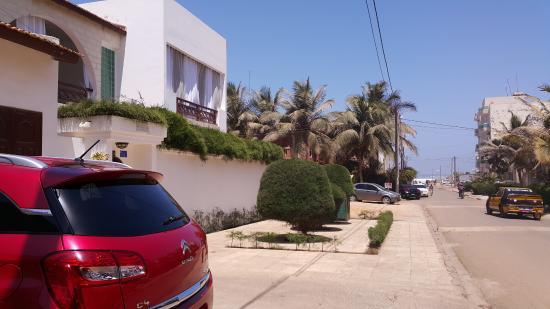 Yoff, Senegal: L'ocean au bout de la rue