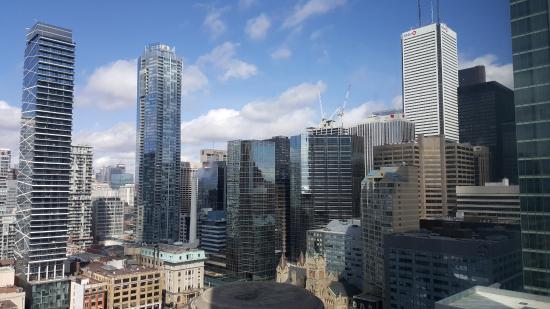 The Ritz-Carlton, Toronto: City view. Gorgeous.