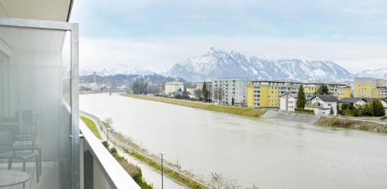 Balkon Aussicht Bild Von Eco Suite Hotel Salzburg Tripadvisor
