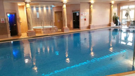 Pool steam room and jacuzzi picture of crabwall manor - Hotels in chester with swimming pool ...