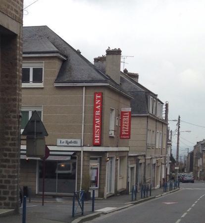 Vire, Francia: Vue de la rue