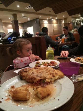 Pizza Richelieu : Anne et sa pizza