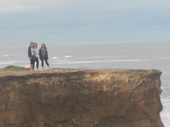 Santa Clara del Mar, Argentyna: Acantilados