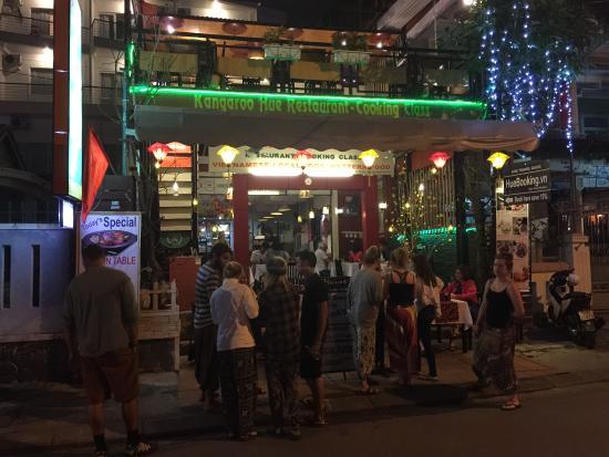 Kangaroo Hue Restaurant & Cooking Class: KANGAROO HUE