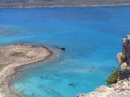 Gramvousa, Hellas: Вид сверху
