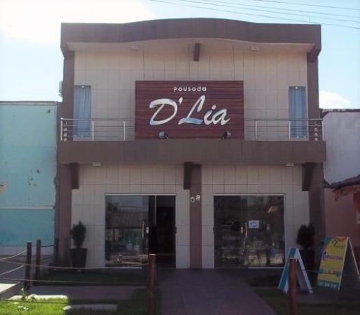 Pousada D' Lia: Foto de frente do hotel.