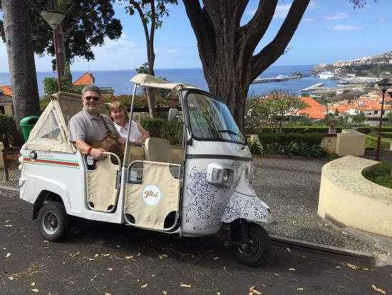 we took the grand tour a fun way to see funchal our driver luis is rh tripadvisor co za