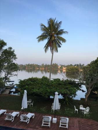 The Waterside Bentota: View from our room