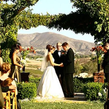 South Coast Winery Resort & Spa: Rose Arbor Wedding Space